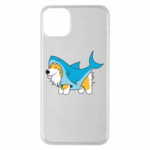 Etui na iPhone 11 Pro Max Corgi Disguise as Shark