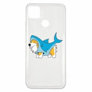 Etui na Xiaomi Redmi 9c Corgi Disguise as Shark