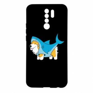 Etui na Xiaomi Redmi 9 Corgi Disguise as Shark