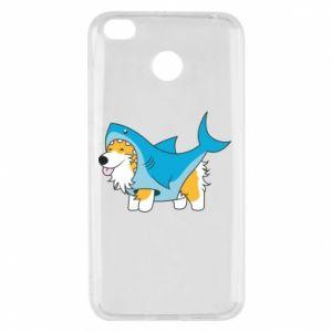 Etui na Xiaomi Redmi 4X Corgi Disguise as Shark