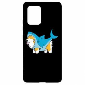 Etui na Samsung S10 Lite Corgi Disguise as Shark