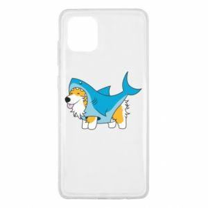 Etui na Samsung Note 10 Lite Corgi Disguise as Shark