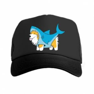 Czapka trucker Corgi Disguise as Shark