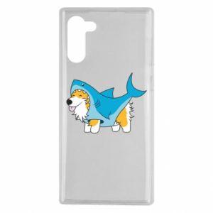 Etui na Samsung Note 10 Corgi Disguise as Shark