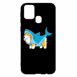 Etui na Samsung M31 Corgi Disguise as Shark