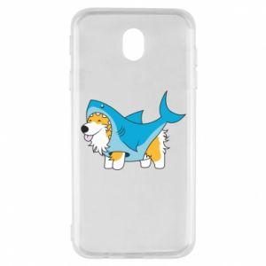 Etui na Samsung J7 2017 Corgi Disguise as Shark