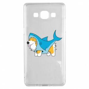 Etui na Samsung A5 2015 Corgi Disguise as Shark