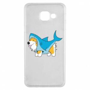 Etui na Samsung A3 2016 Corgi Disguise as Shark