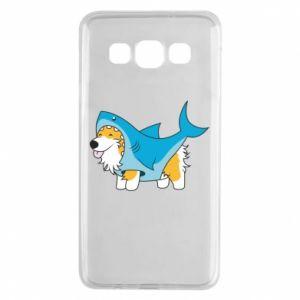 Etui na Samsung A3 2015 Corgi Disguise as Shark