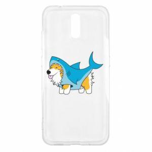 Etui na Nokia 2.3 Corgi Disguise as Shark