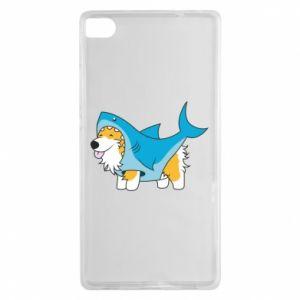 Etui na Huawei P8 Corgi Disguise as Shark