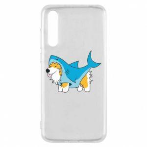 Etui na Huawei P20 Pro Corgi Disguise as Shark