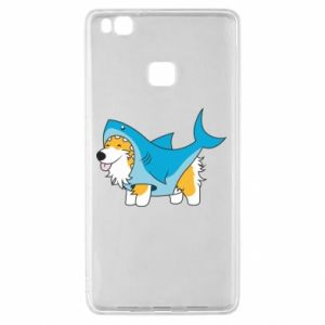 Etui na Huawei P9 Lite Corgi Disguise as Shark