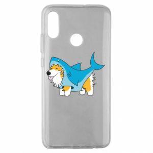 Etui na Huawei Honor 10 Lite Corgi Disguise as Shark