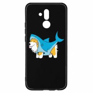 Etui na Huawei Mate 20 Lite Corgi Disguise as Shark