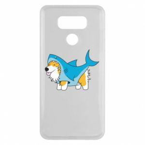 Etui na LG G6 Corgi Disguise as Shark