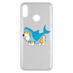 Etui na Huawei Y9 2019 Corgi Disguise as Shark