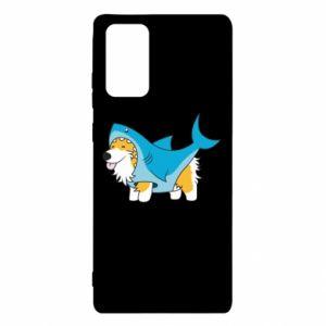 Etui na Samsung Note 20 Corgi Disguise as Shark