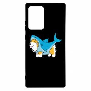 Etui na Samsung Note 20 Ultra Corgi Disguise as Shark