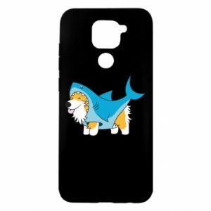 Etui na Xiaomi Redmi Note 9/Redmi 10X Corgi Disguise as Shark