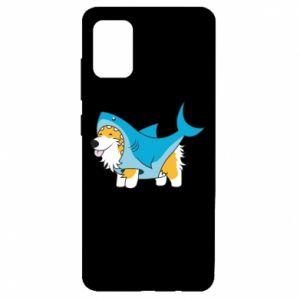 Etui na Samsung A51 Corgi Disguise as Shark