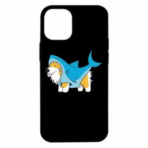 Etui na iPhone 12 Mini Corgi Disguise as Shark