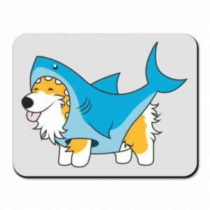 Podkładka pod mysz Corgi Disguise as Shark