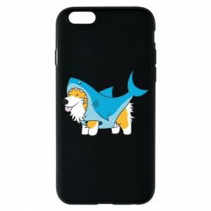 Etui na iPhone 6/6S Corgi Disguise as Shark