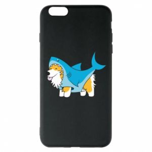 Etui na iPhone 6 Plus/6S Plus Corgi Disguise as Shark