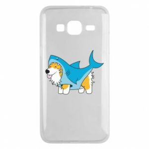 Etui na Samsung J3 2016 Corgi Disguise as Shark