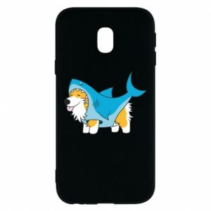 Etui na Samsung J3 2017 Corgi Disguise as Shark