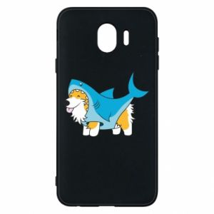 Etui na Samsung J4 Corgi Disguise as Shark