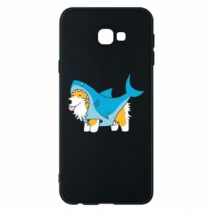 Etui na Samsung J4 Plus 2018 Corgi Disguise as Shark
