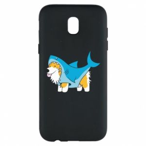 Etui na Samsung J5 2017 Corgi Disguise as Shark