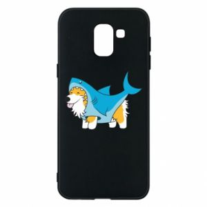 Etui na Samsung J6 Corgi Disguise as Shark