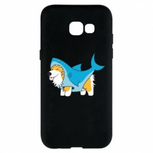 Etui na Samsung A5 2017 Corgi Disguise as Shark