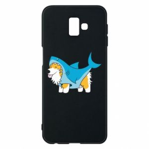 Etui na Samsung J6 Plus 2018 Corgi Disguise as Shark