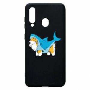 Etui na Samsung A60 Corgi Disguise as Shark