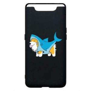 Etui na Samsung A80 Corgi Disguise as Shark