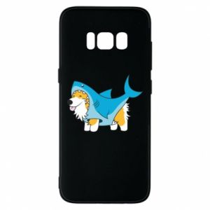 Etui na Samsung S8 Corgi Disguise as Shark