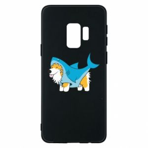 Etui na Samsung S9 Corgi Disguise as Shark