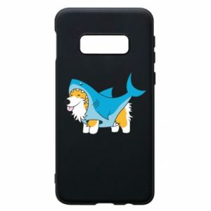 Etui na Samsung S10e Corgi Disguise as Shark