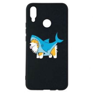 Etui na Huawei P Smart Plus Corgi Disguise as Shark