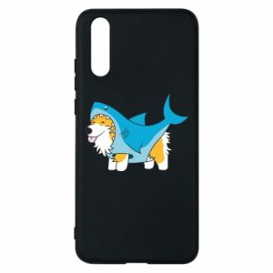 Etui na Huawei P20 Corgi Disguise as Shark
