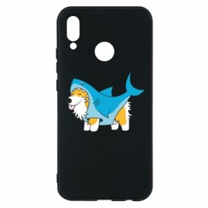 Etui na Huawei P20 Lite Corgi Disguise as Shark