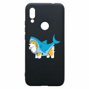Etui na Xiaomi Redmi 7 Corgi Disguise as Shark