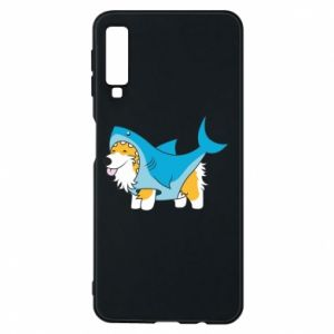 Etui na Samsung A7 2018 Corgi Disguise as Shark
