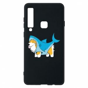 Etui na Samsung A9 2018 Corgi Disguise as Shark