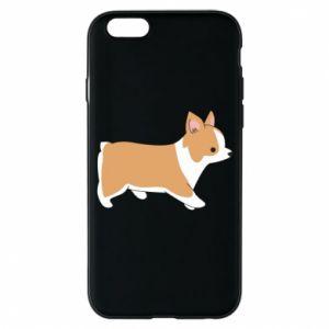 Phone case for iPhone 6/6S Corgi en route