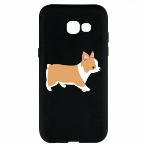 Phone case for Samsung A5 2017 Corgi en route
